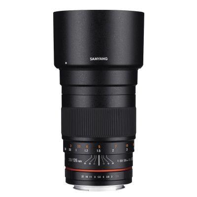 Obiettivo Samyang 135mm f/2.0 ED UMC x Fuji Fufjilm X Lens