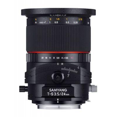 Obiettivo Samyang T-S 24mm f/3.5 ED AS UMC x Fuji Fujifilm X Lens