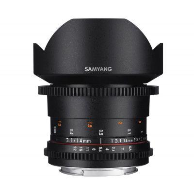 Obiettivo Samyang 14mm T3.1 ED AS IF UMC VDSLR II x Canon Lens