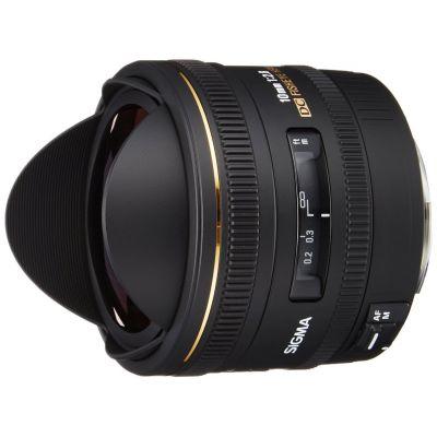 Obiettivo Sigma 10mm F2.8 EX DC FISHEYE HSM x Canon Lens