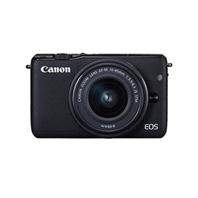 Fotocamera Canon EOS M10 kit EF-M 15-45mm f/3.5-6.3 IS STM Nero 15-45