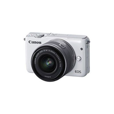 Fotocamera Canon EOS M10 kit EF-M 15-45mm f/3.5-6.3 IS STM Bianco 15-45