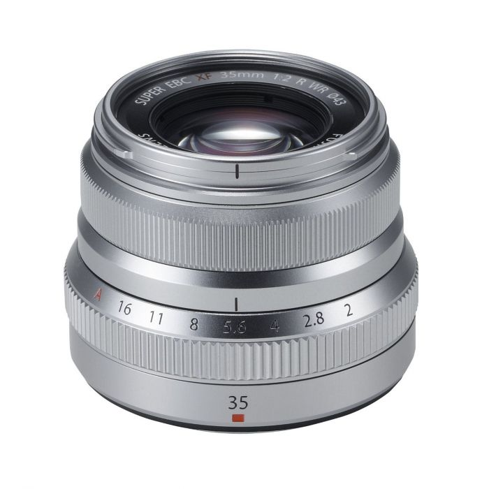 Obiettivo FUJINON XF 35mm F2 R WR Silver x Fuji Fujifilm XF35mm