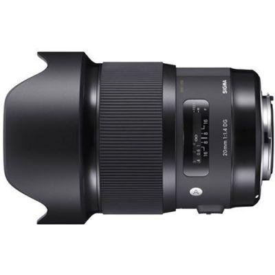 Obiettivo Sigma 20mm F1.4 DG HSM Art x Canon Lens