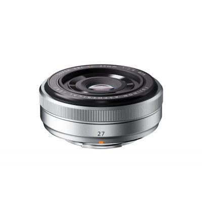 Obiettivo FUJINON XF27mm F2.8 Pancake 27mm Silver x Fuji Fujifilm Lens