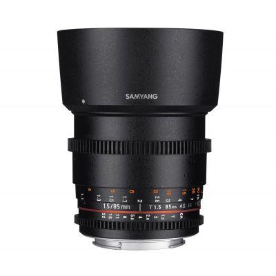 Obiettivo Samyang 85mm T1.5 AS IF UMC VDSLR II x Canon Lens