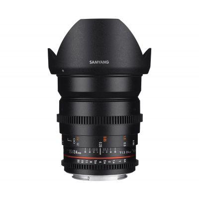 Obiettivo Samyang 24mm T1.5 ED AS UMC VDSLR II x Sony E-Mount Lens
