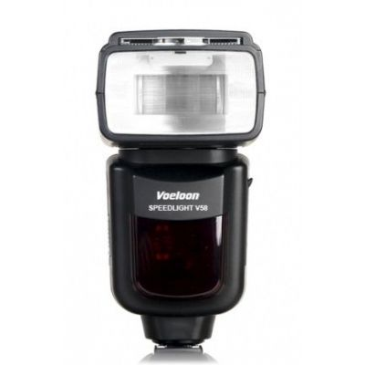 Voeloon Flash V58 TTL HSS Master Slaver x Nikon illuminatore