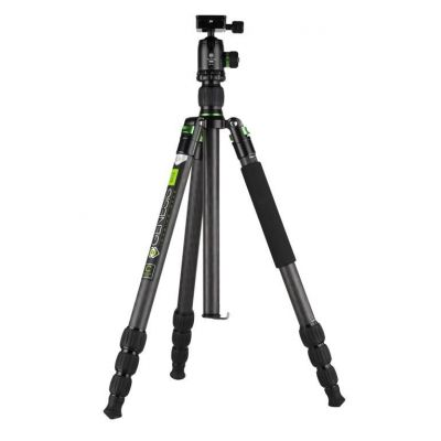 Genesis Base C3 Kit treppiedi verde cavalletto tripod treppiede + testa BH-34