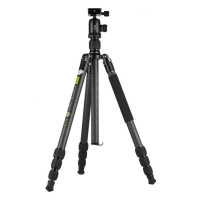 Genesis Base C3 Kit treppiedi grigio cavalletto tripod treppiede + testa BH-34
