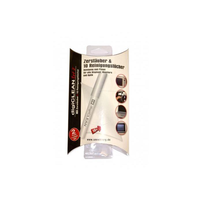REHBERG KIT PULIZIA Set 2 (lens cleaner 10 ml + 10 salviettine) REH S1013