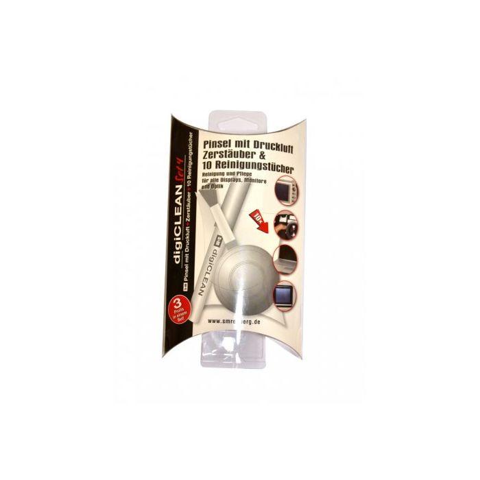 REHBERG KIT PULIZIA Set 4 (lens cleaner 10 ml + pennellino + 10 salviette asciutte) REH S1017