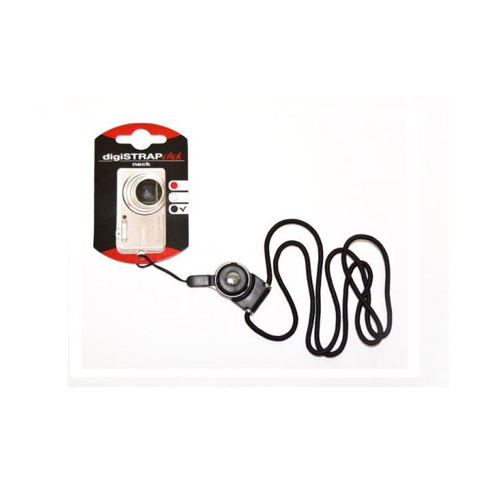 REHBERG Fotocamere compatte smartphone MP3 Tracolla Digi-Click Nera REH 2103 black