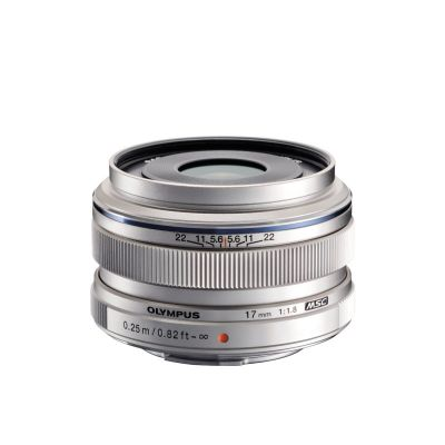 Obiettivo Olympus M.ZUIKO DIGITAL ED 17mm f1.8 Silver Lens