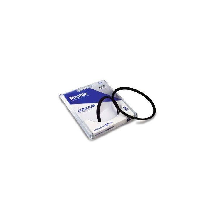 Phottix Filtro Ultra Slim 1mm UV Filter 62mm