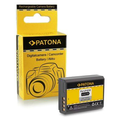 Patona Batteria 1089 LP-E10 x Canon