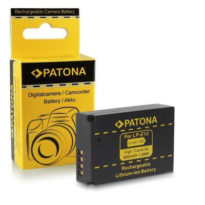 Patona Batteria 1141 LP-E12 x Canon 100D EOS M