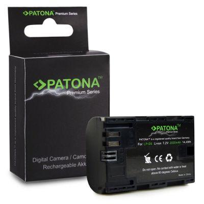 Patona Batteria 1212 LP-E6 2000mAh x Canon 5D Mark II III 6D 7D 60D 60Da 70D